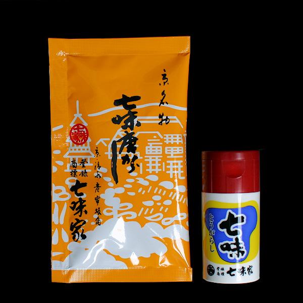 七味小袋(15g)&ケース付 width=