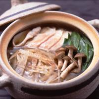 豚ごぼう中華鍋