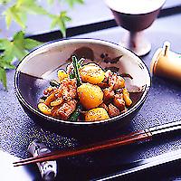 栗と鶏肉の山椒煮