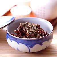 牛肉の山椒しぐれ
