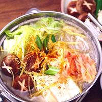 中華風湯豆腐